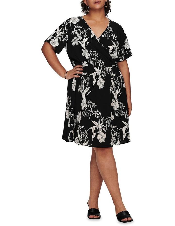Luxina Short Sleeve Wrap Dress image 3