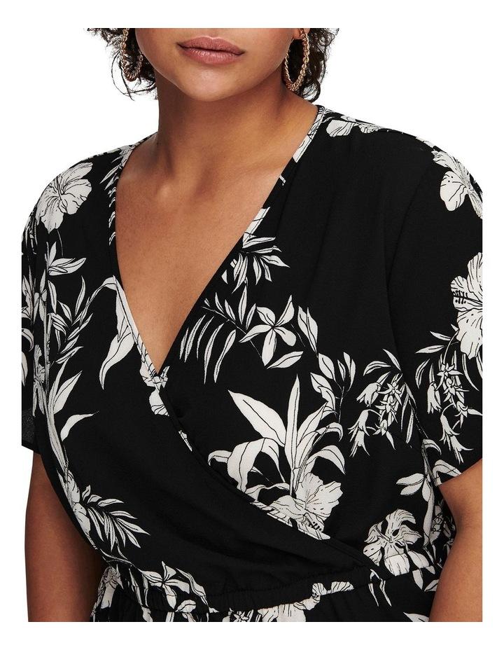 Luxina Short Sleeve Wrap Dress image 5