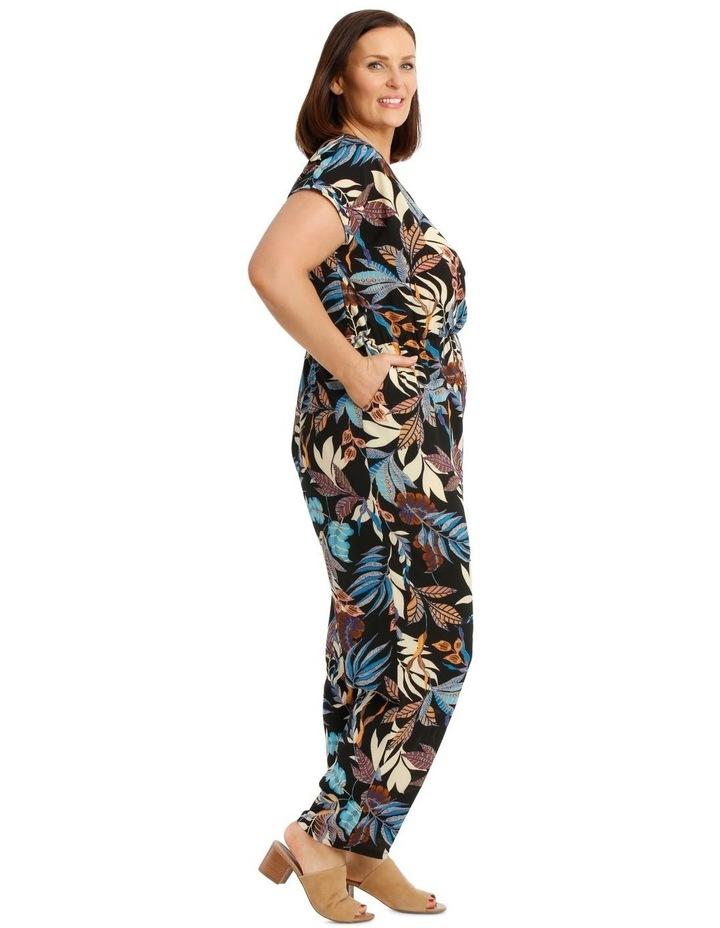 Short Sleeve Printed Jumpsuit image 2