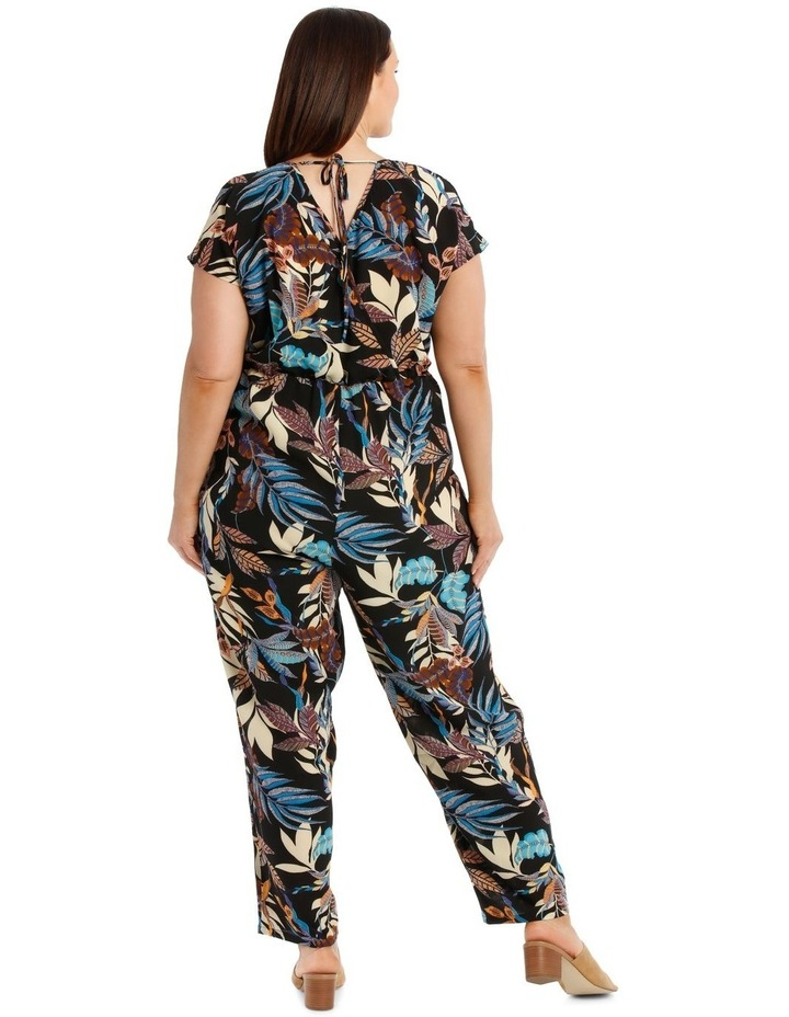 Short Sleeve Printed Jumpsuit image 3