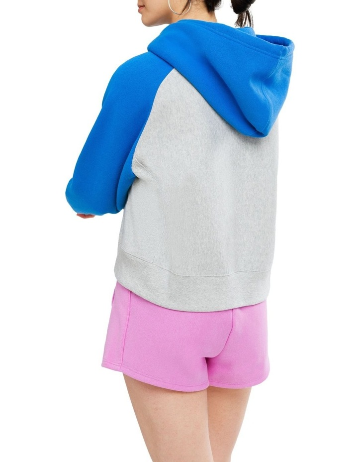 Colorblock Reverse Weave Oversized Sweat image 3