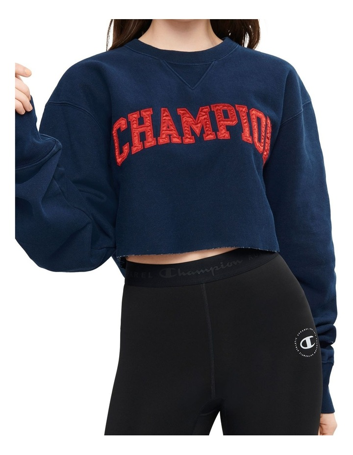 Cropped Sweater by Champion