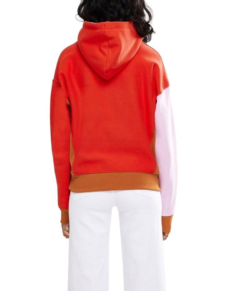 Reverse Weave Hood Colour Block image 2