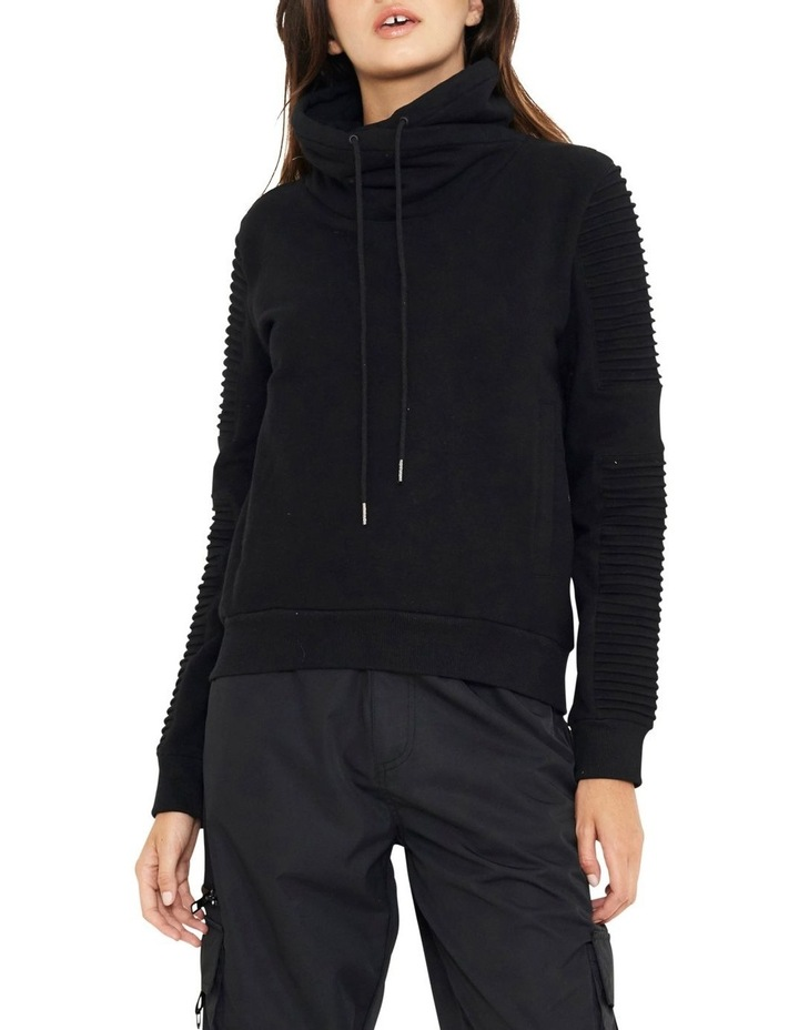 Adeline Funnel Neck Sweater With Pin-tuck Sleve image 1