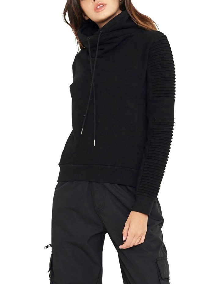 Adeline Funnel Neck Sweater With Pin-tuck Sleve image 2