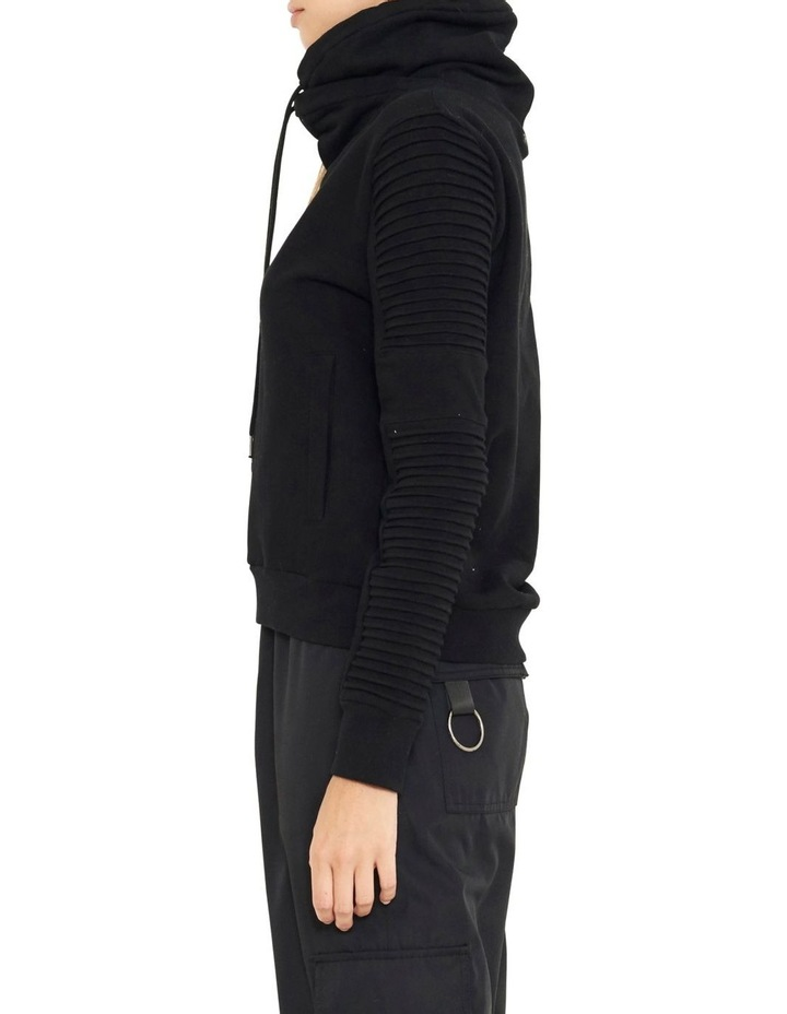 Adeline Funnel Neck Sweater With Pin-tuck Sleve image 4