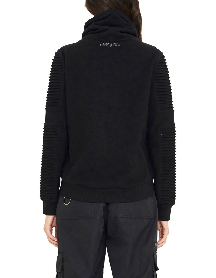Adeline Funnel Neck Sweater With Pin-tuck Sleve image 5