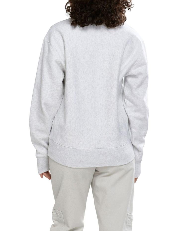 Reverse Weave Boyfriend Quarter Zip image 3