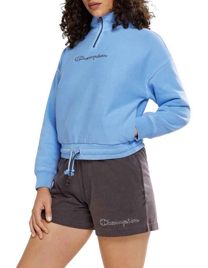 Garment Dye Quarter Zip Sweat image 2