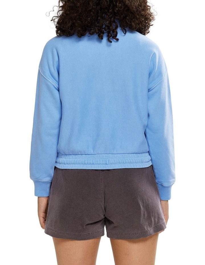Garment Dye Quarter Zip Sweat image 3