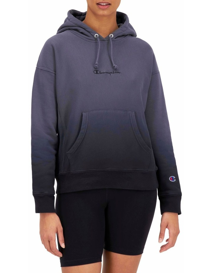 Reverse Weave Ombre Hoodie image 1