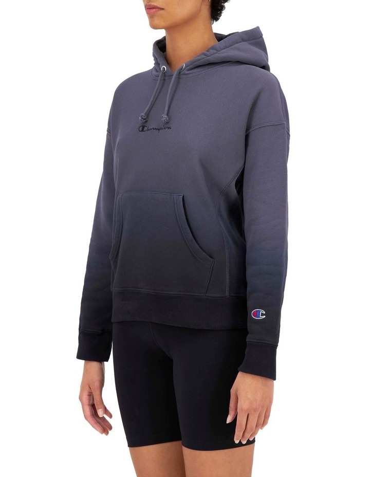 Reverse Weave Ombre Hoodie image 2