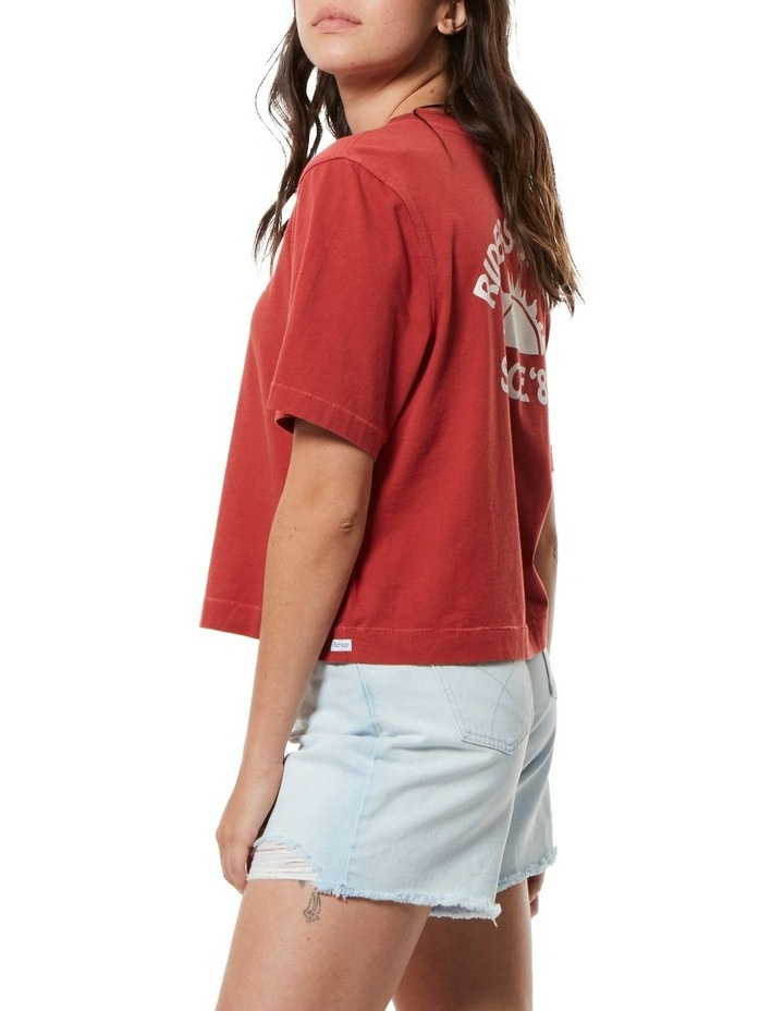 Boxy Tee Vintage Red image 2