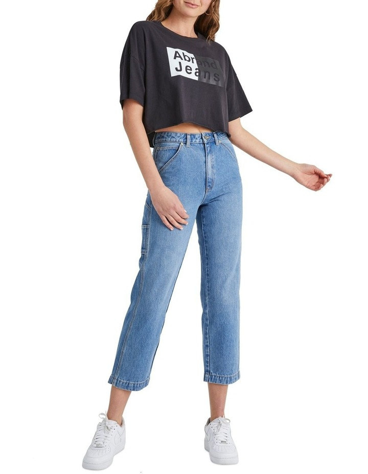 A Cropped Oversized Tee image 2