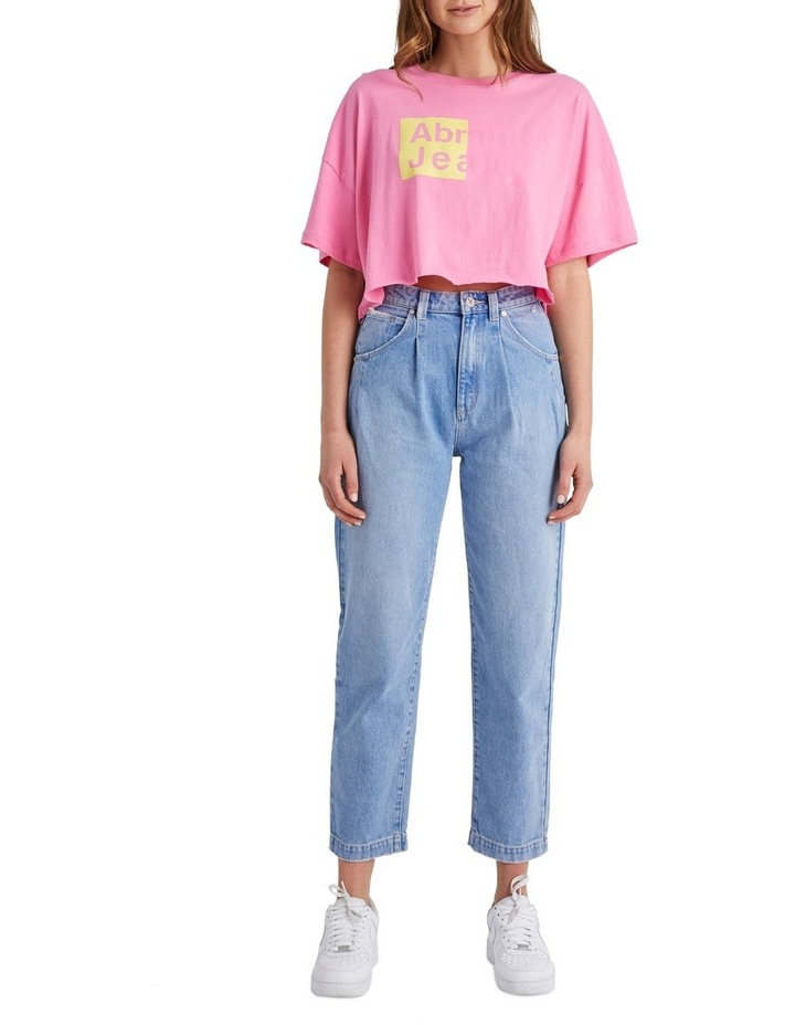 A Cropped Oversized Tee image 1