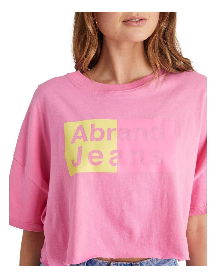 A Cropped Oversized Tee image 4