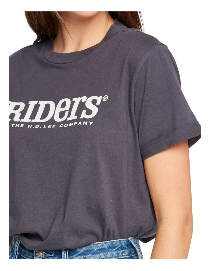 Womens Relaxed Tee Graphite image 3