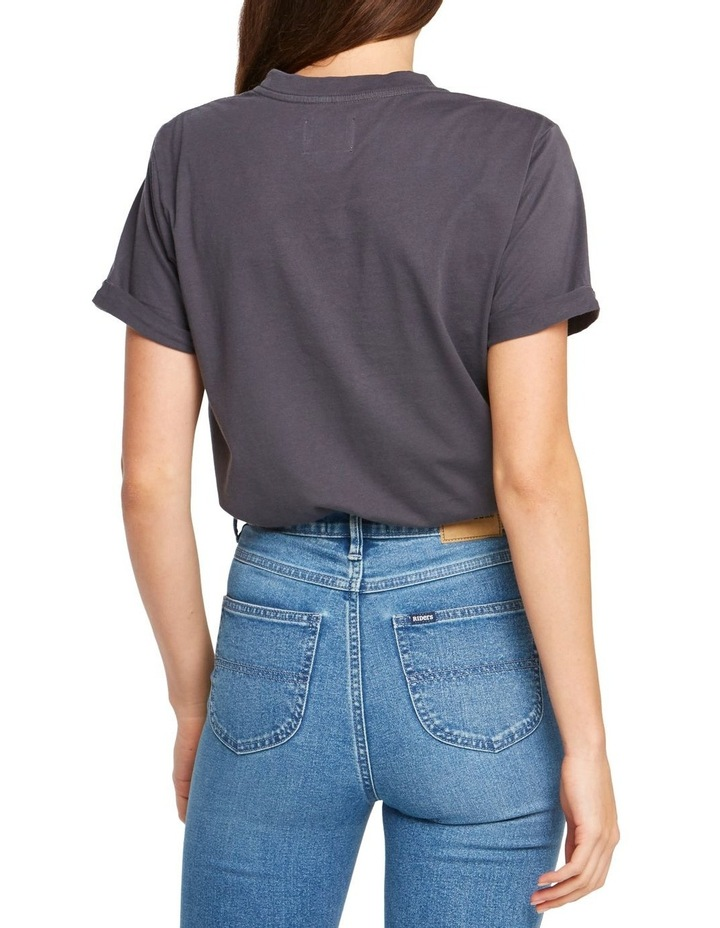 Womens Relaxed Tee Graphite image 4