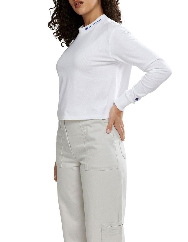 Ht Long Sleeve Tee White image 1
