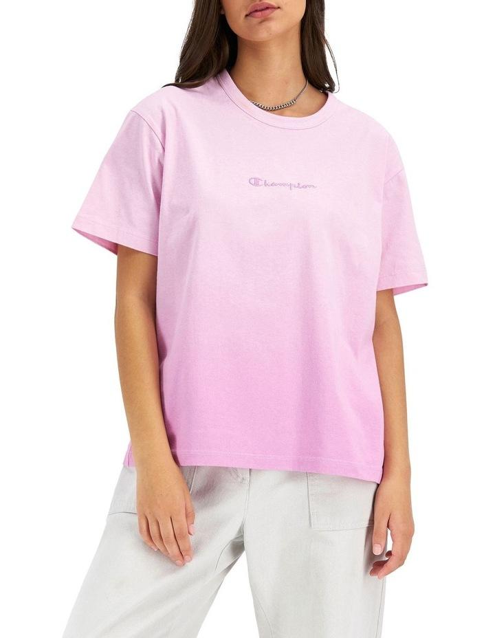 Ombre Boyfriend Tee Pink image 1