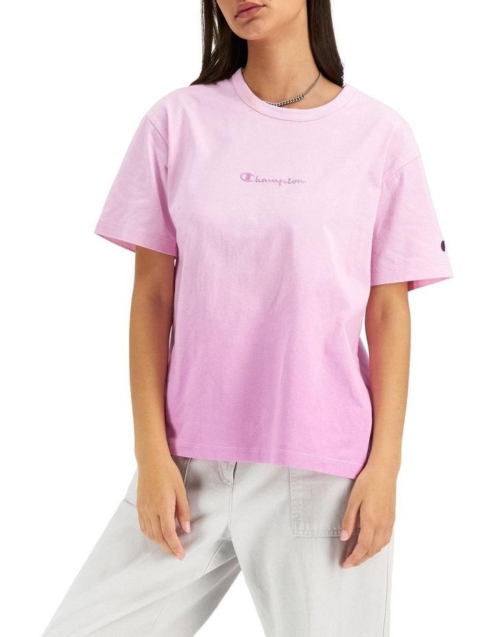 Ombre Boyfriend Tee Pink image 2