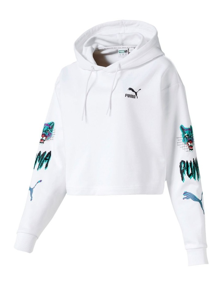 Claw Cropped Hoody image 4