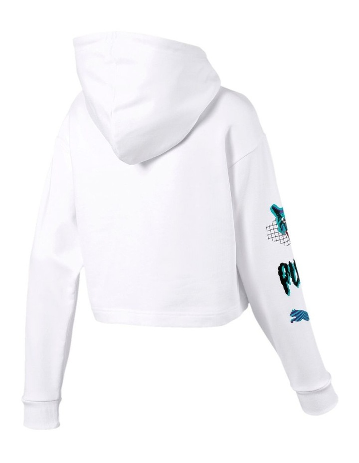 Claw Cropped Hoody image 5