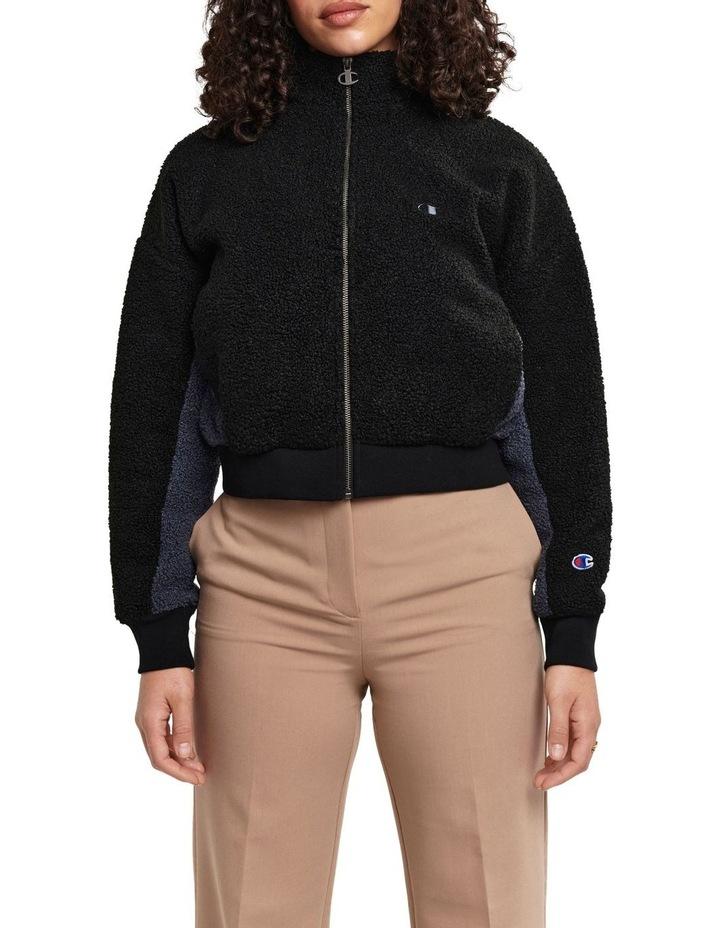 Rib Sherpa Jacket image 1