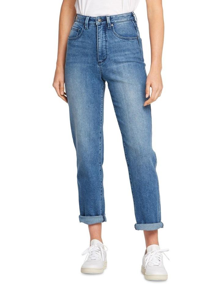 Hi Mom Curve Jean Midtown Blue 1 image 1