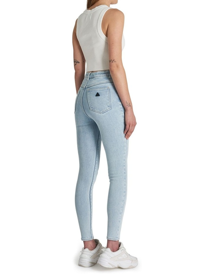 A High Skinny Ankle Basher Jessica Eco Rip Jean image 2