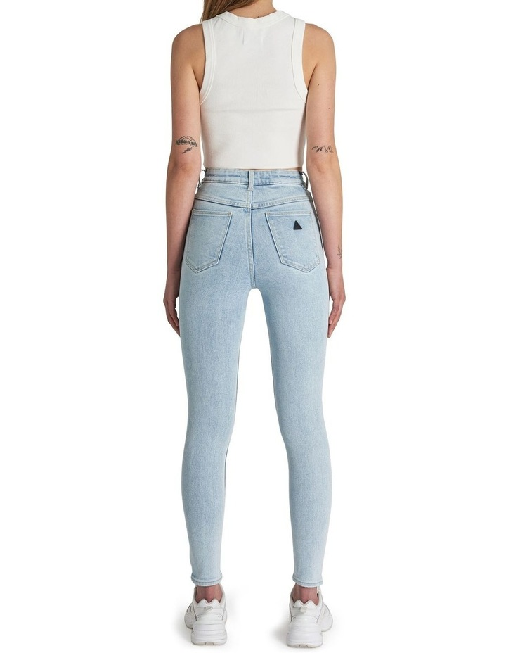 A High Skinny Ankle Basher Jessica Eco Rip Jean image 3