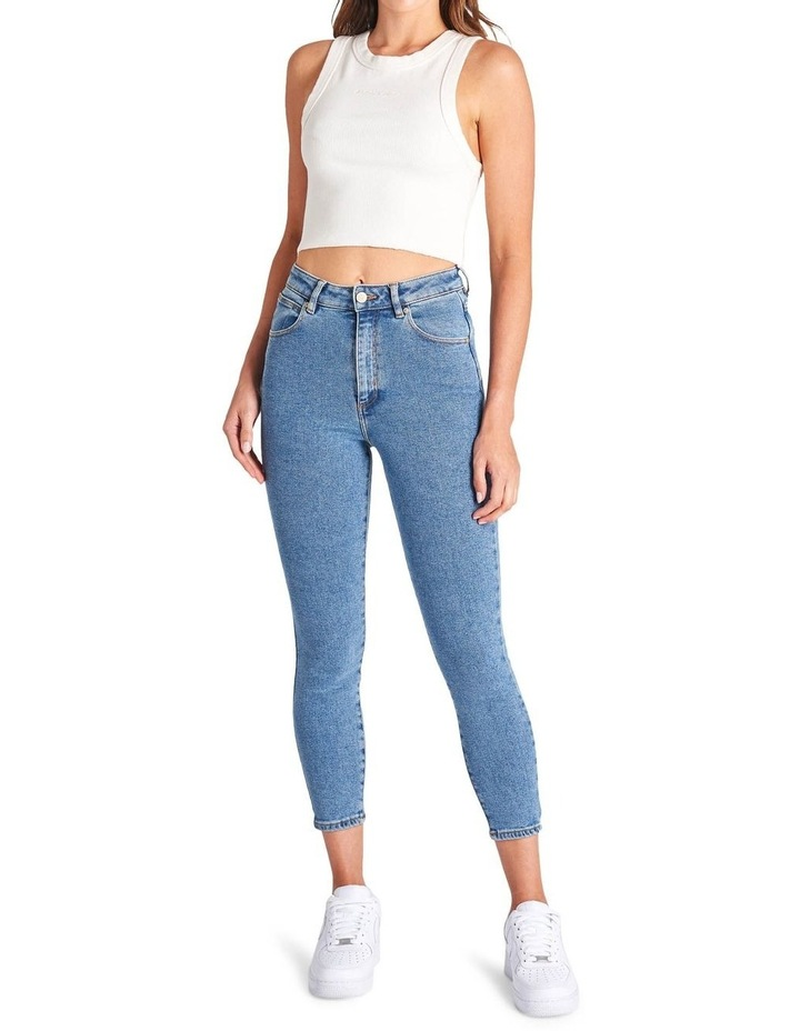 A High Skinny Ankle Basher Petite Jean image 1