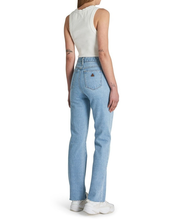 A '94 High Walk Away Straight Leg Jean image 2
