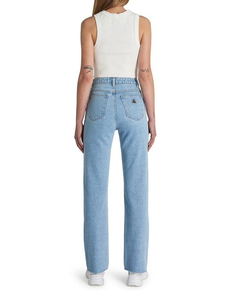 A '94 High Walk Away Straight Leg Jean image 3