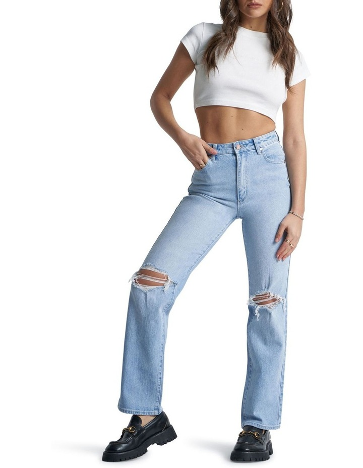 A '94 High Straight Gina Rip Jeans image 1
