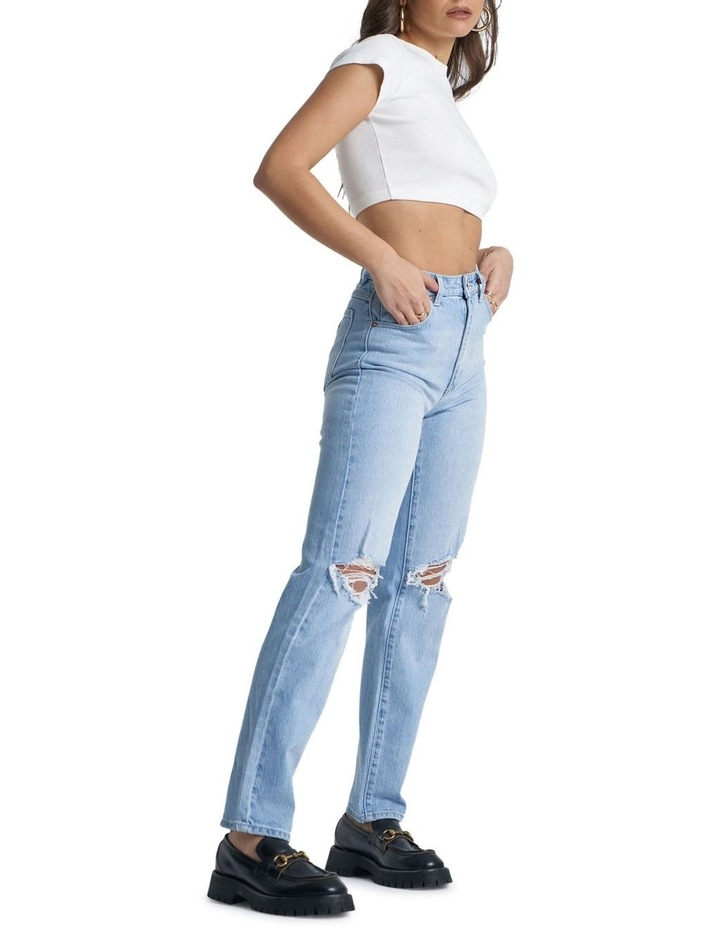 A '94 High Straight Gina Rip Jeans image 3