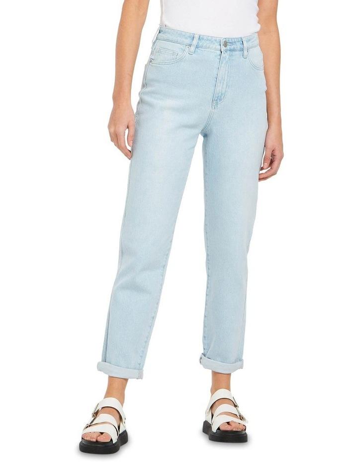 Hi Mom Jeans Rainy Day Blue image 1