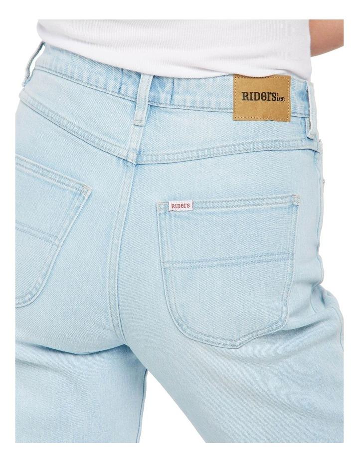 Hi Mom Jeans Rainy Day Blue image 3