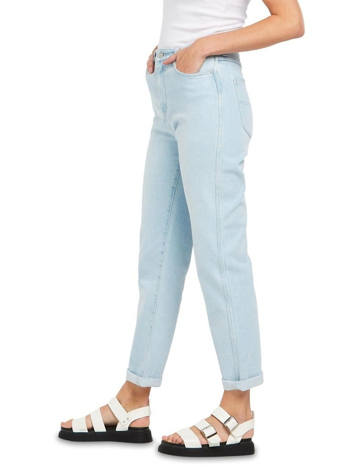 Hi Mom Jeans Rainy Day Blue image 4