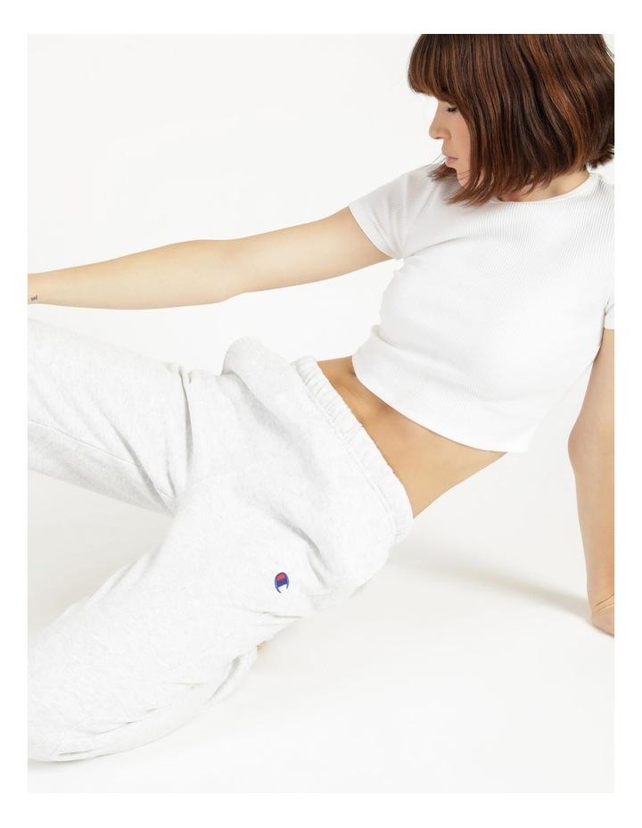 Reverse Weave Grey Jogger Pants image 2