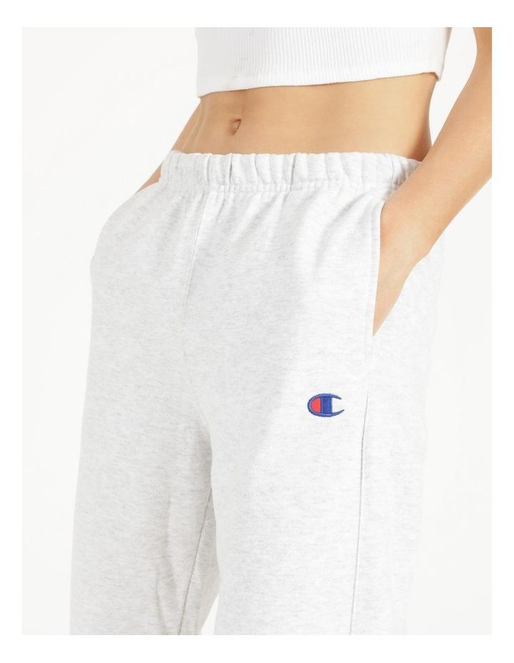 Reverse Weave Grey Jogger Pants image 6
