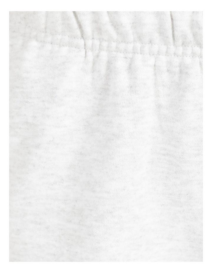 Reverse Weave Grey Jogger Pants image 7