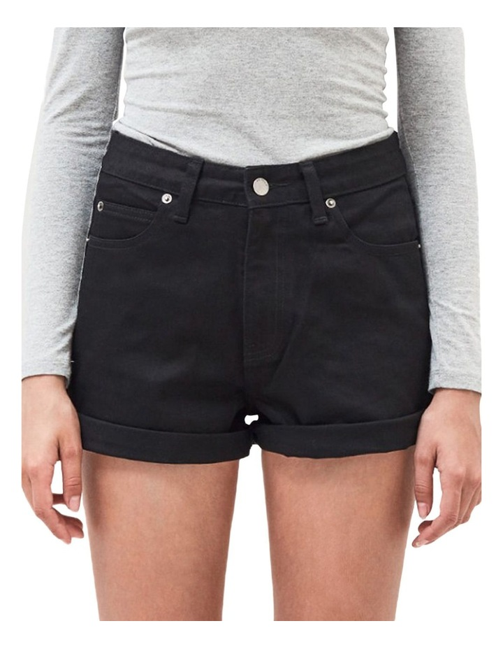 Jenn High Rise Rigid Mom Shorts image 1
