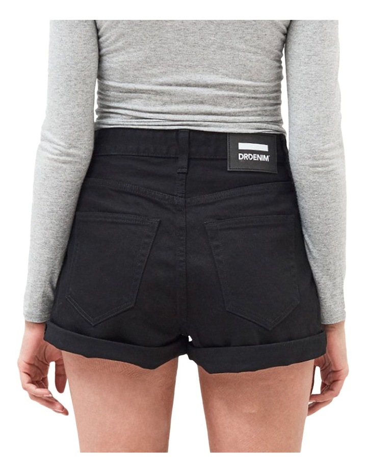 Jenn High Rise Rigid Mom Shorts image 2