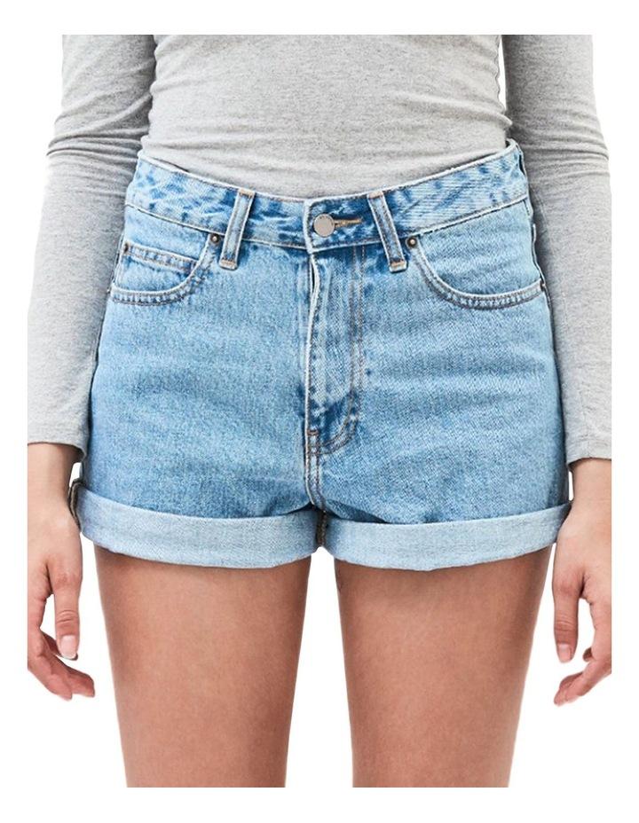 Jenn High Rise Rigid Mom Shorts image 1