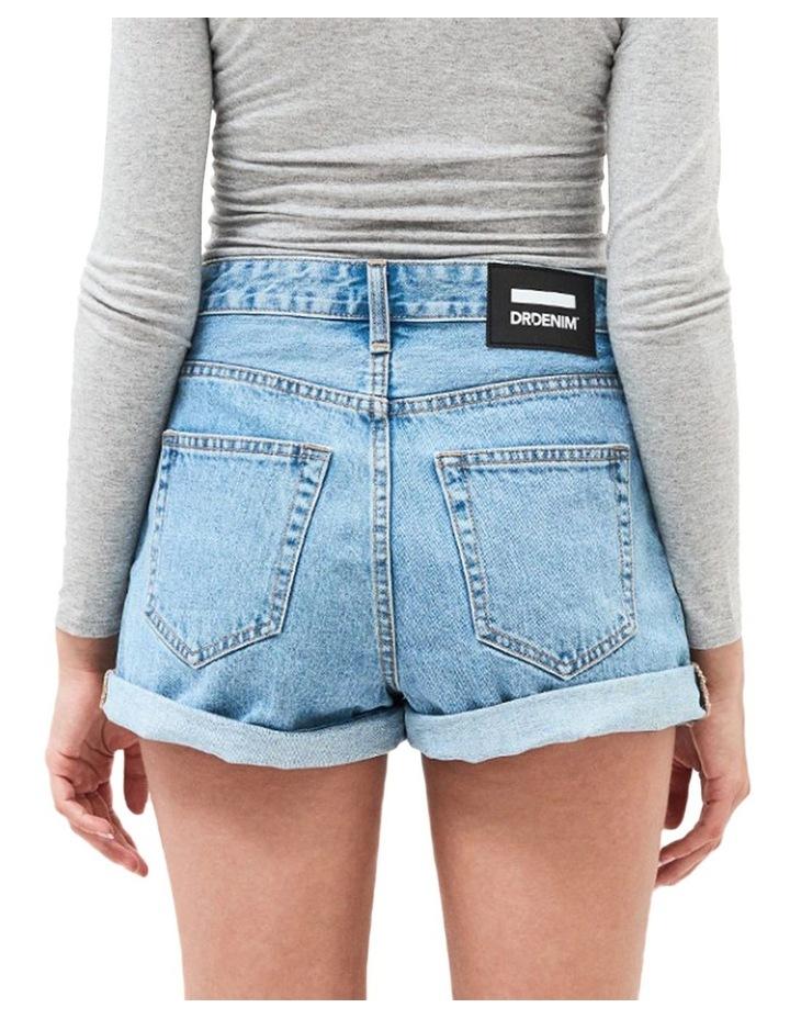 Jenn High Rise Rigid Mom Shorts image 2