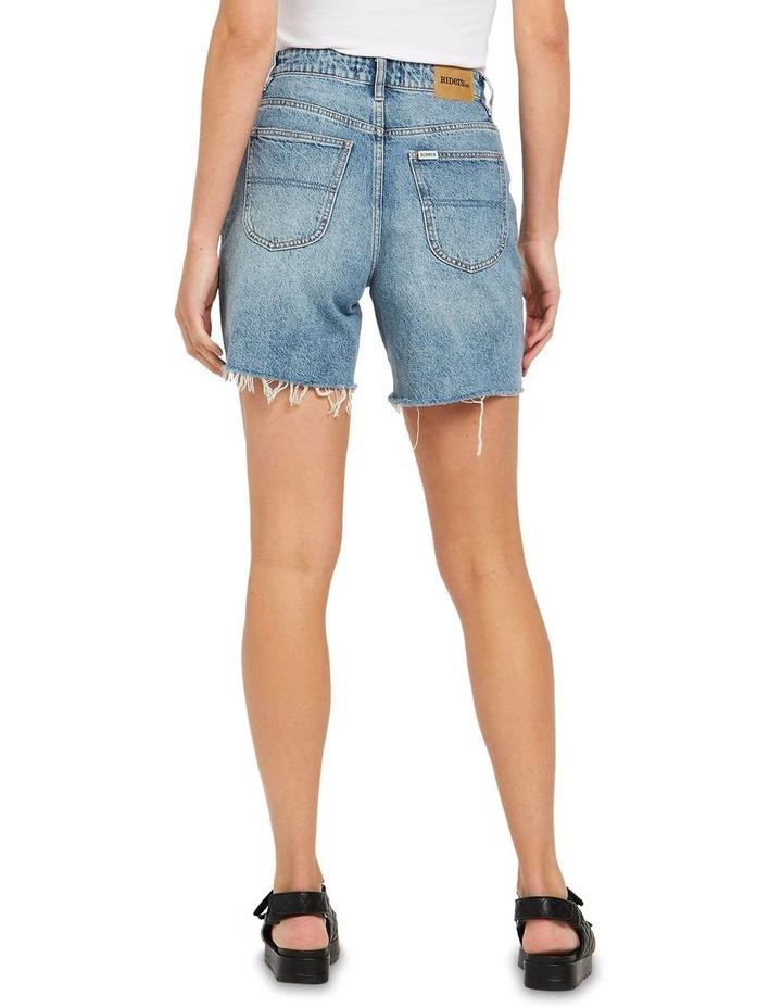 Straight Shorts Bring Joy Blue image 2