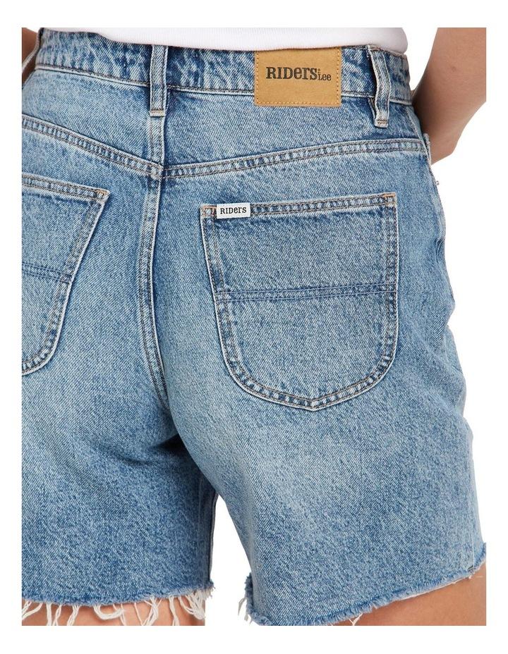 Straight Shorts Bring Joy Blue image 3