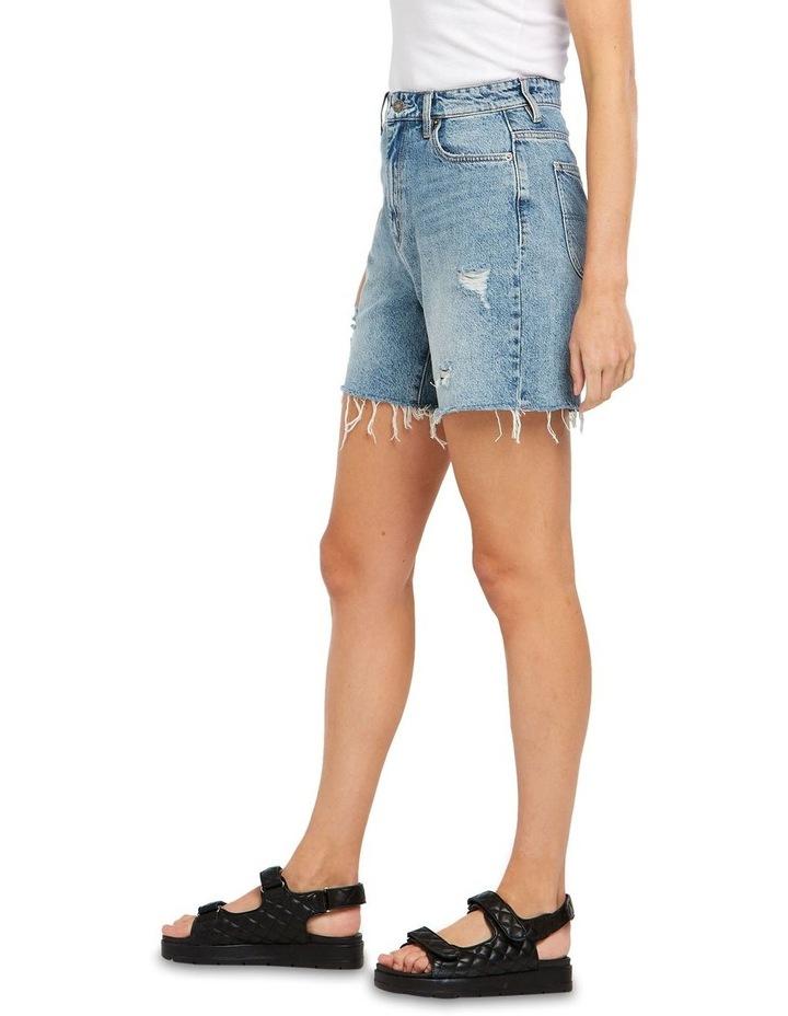 Straight Shorts Bring Joy Blue image 4