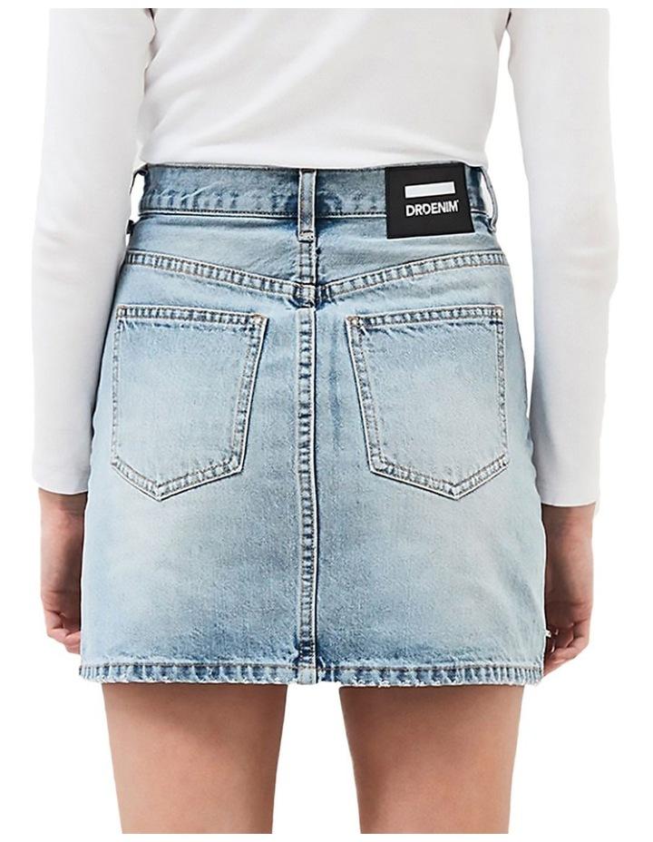 Mallory Denim High Waist Mini Skirt image 2